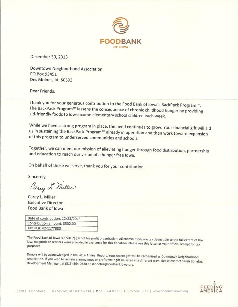 FoodBank2013